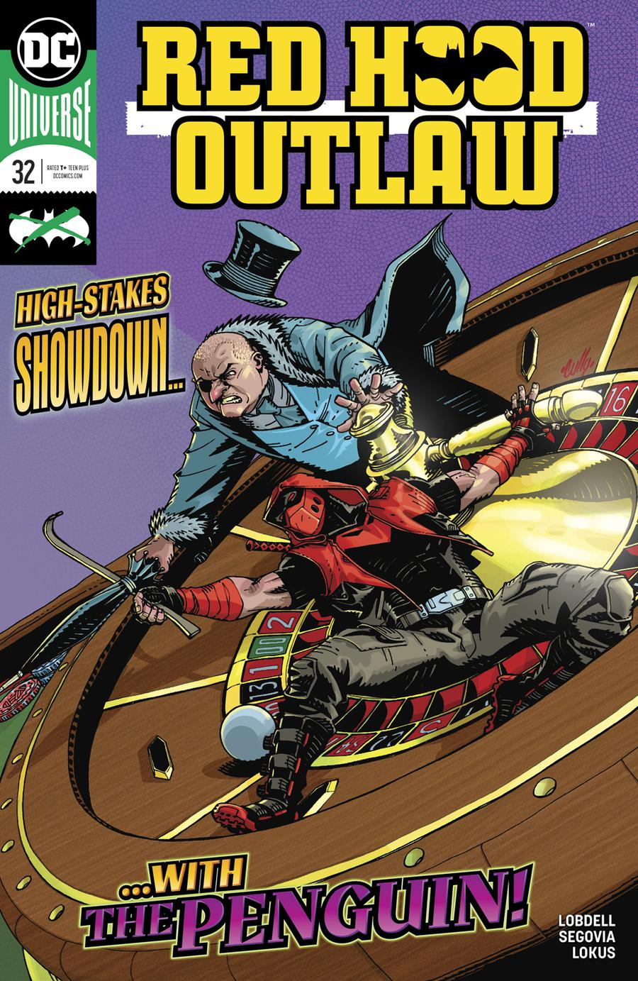 Red Hood Outlaw #32 Cover A Regular Cully Hamner Cover