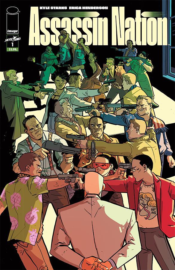 Assassin Nation #1 Cover A 1st Ptg Regular Erica Henderson Cover