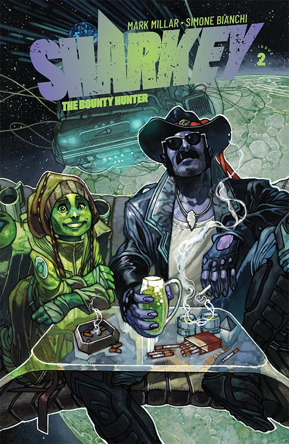 Sharkey The Bounty Hunter #2 Cover A Regular Simone Bianchi Color Cover