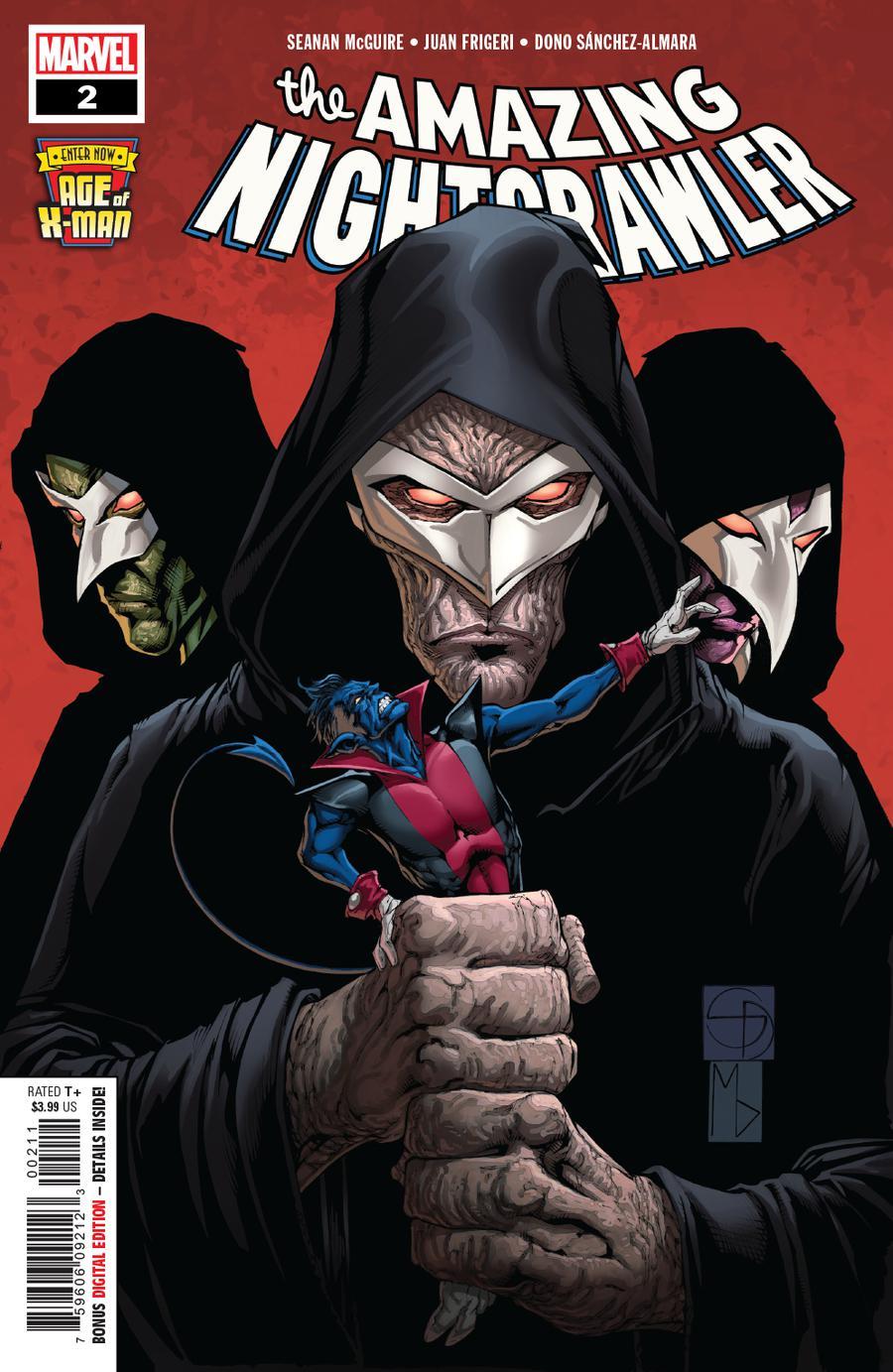 Age Of X-Man Amazing Nightcrawler #2 Cover A Regular Shane Davis Michelle Delecki & Frank DArmata Cover