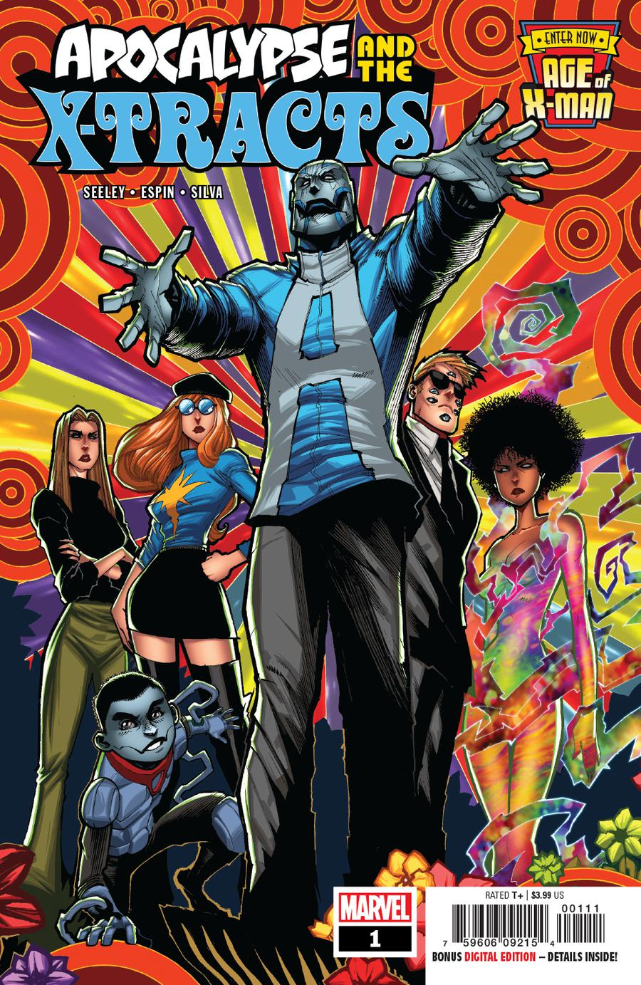 Age Of X-Man Apocalypse And The X-Tracts #1 Cover A Regular Gerardo Sandoval Cover