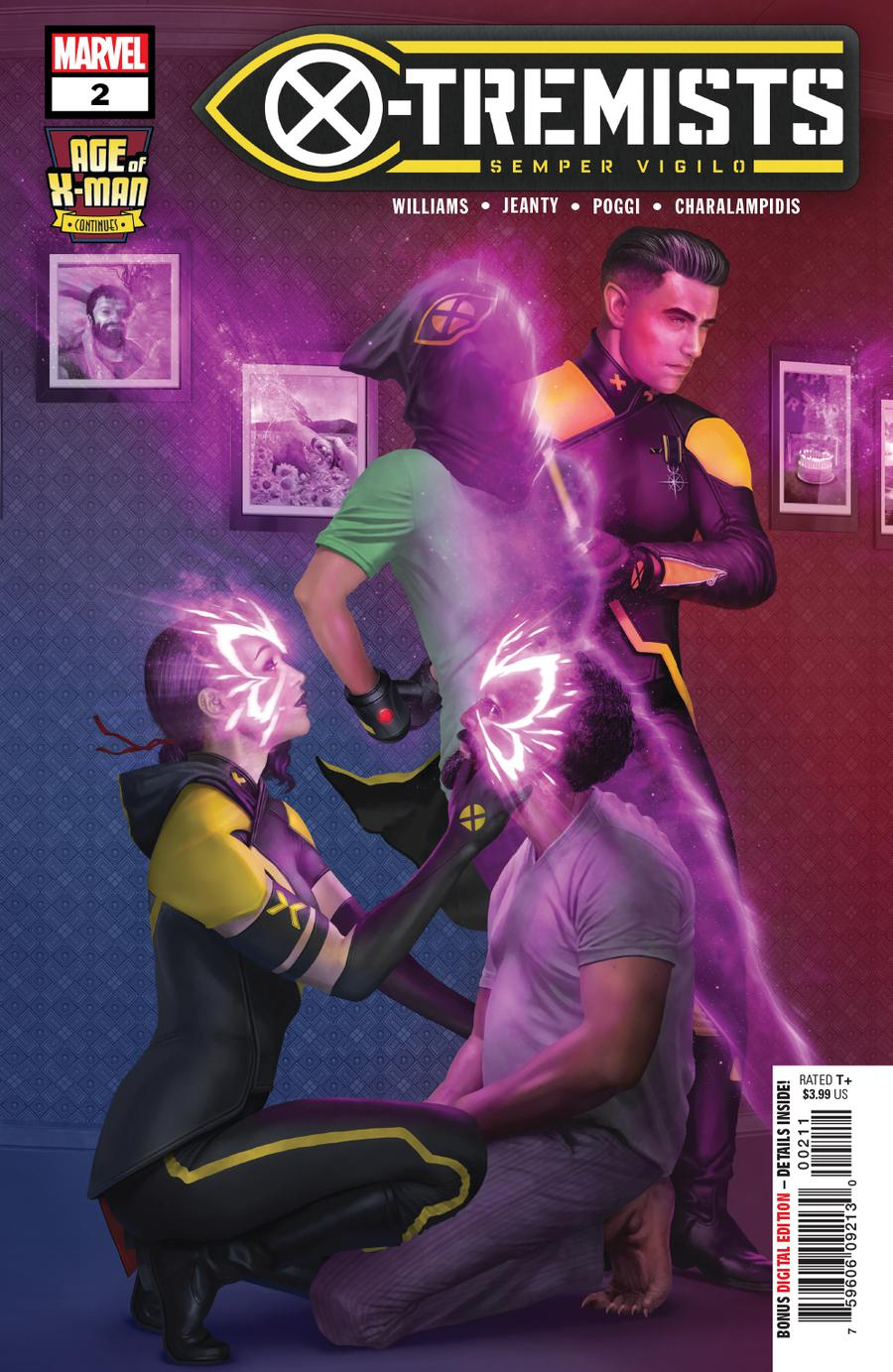 Age Of X-Man X-Tremists #2 Cover A Regular Rahzzah Cover