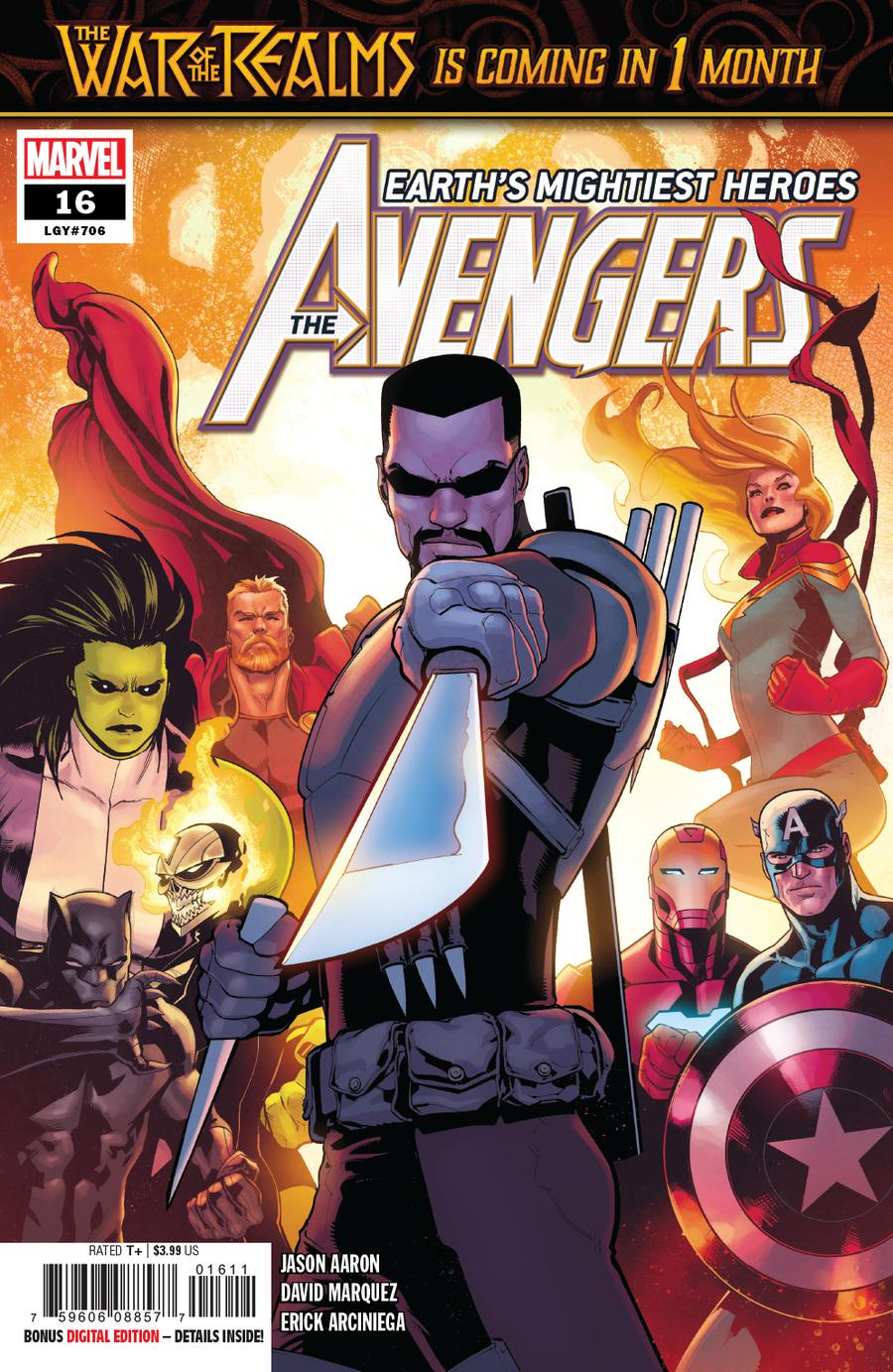 Avengers Vol 7 #16 Cover A Regular David Marquez Cover