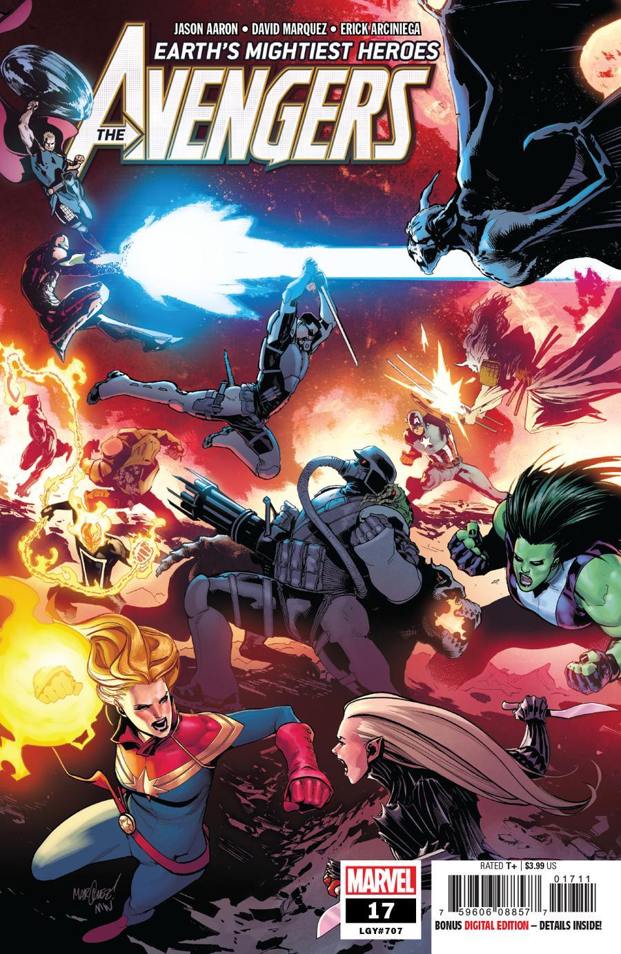 Avengers Vol 7 #17 Cover A Regular David Marquez Cover