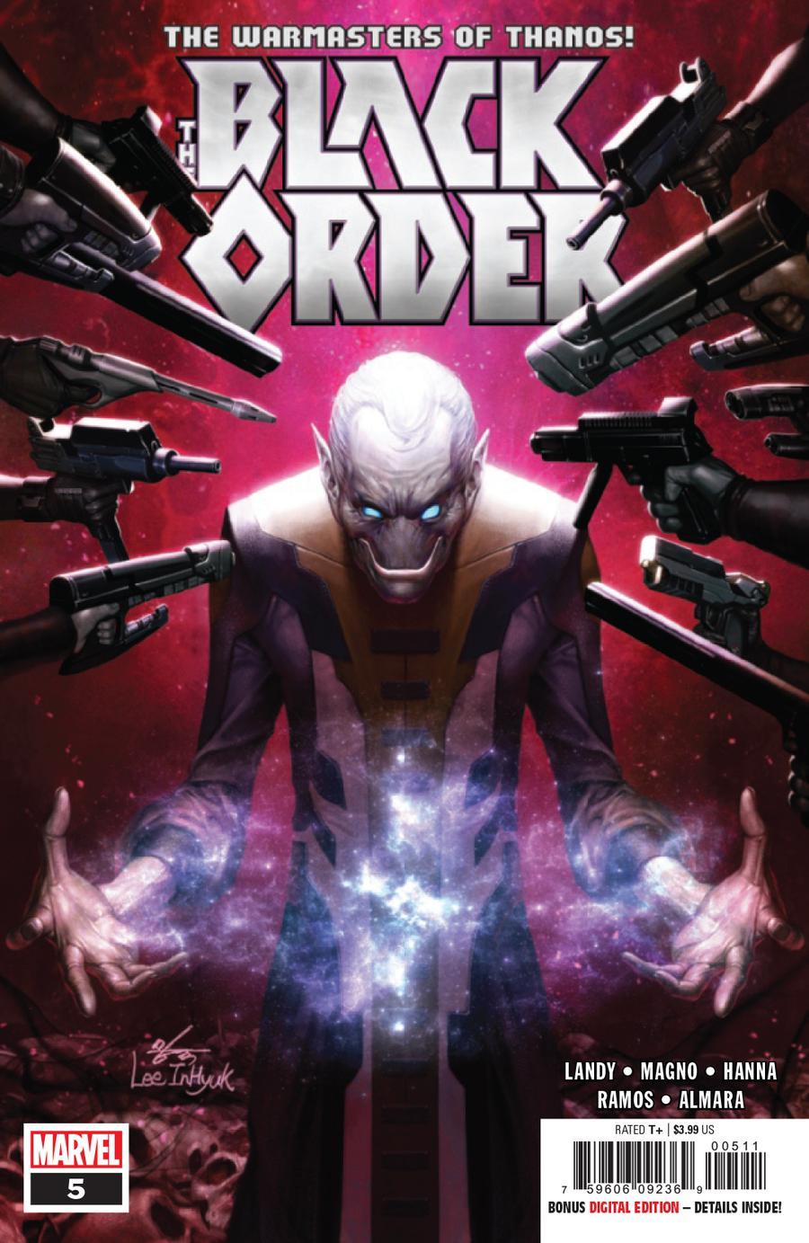 Black Order #5 Cover A Regular Inhyuk Lee Cover