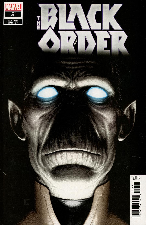 Black Order #5 Cover B Variant John Tyler Christopher Cover