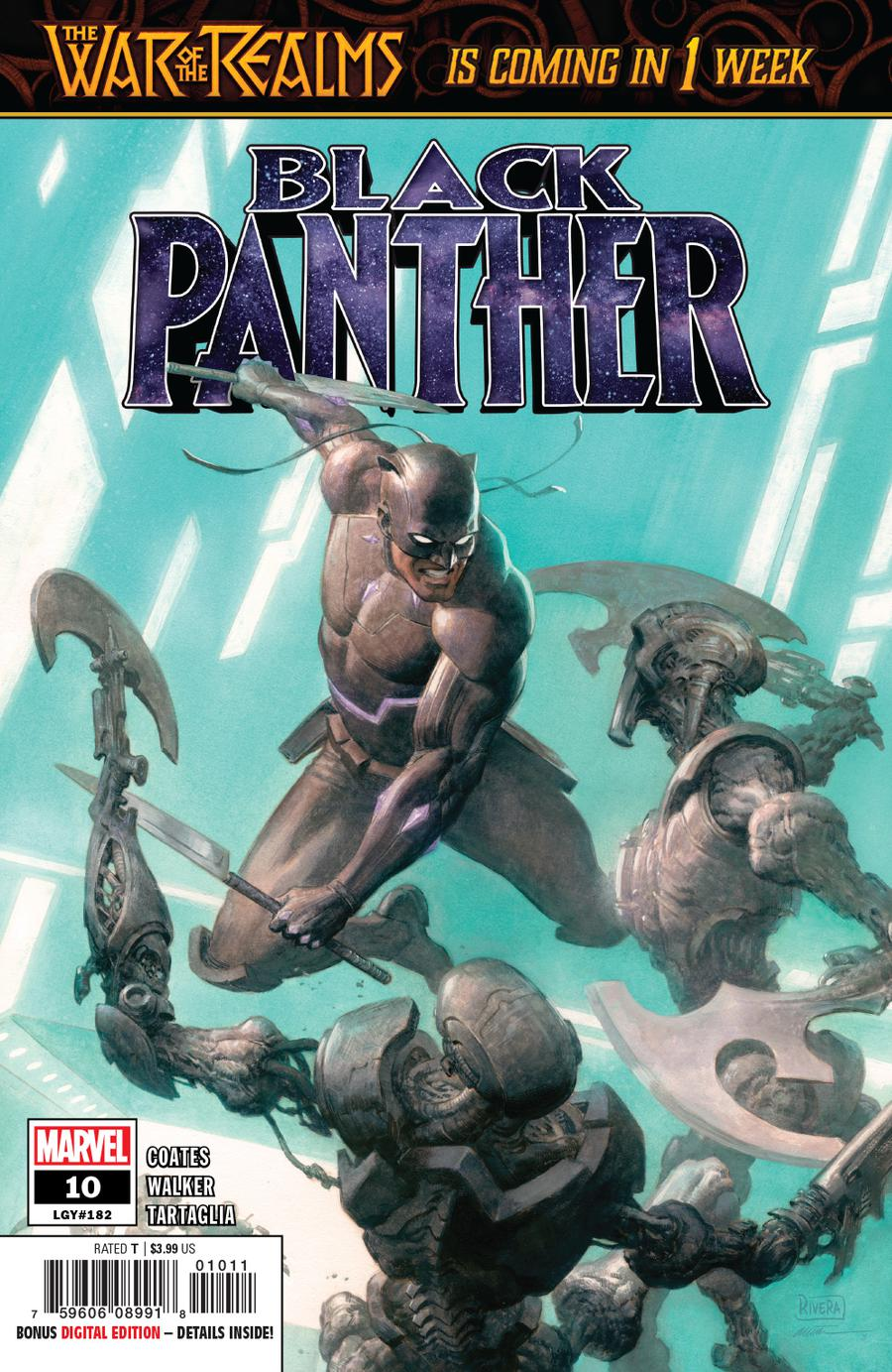 Black Panther Vol 7 #10 Cover A Regular Paolo Rivera & Daniel Acuna Cover