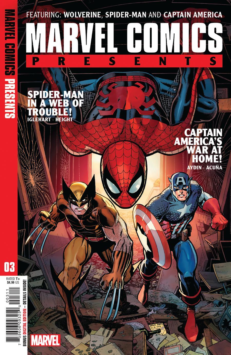 Marvel Comics Presents Vol 3 #3 Cover A Regular Arthur Adams Cover