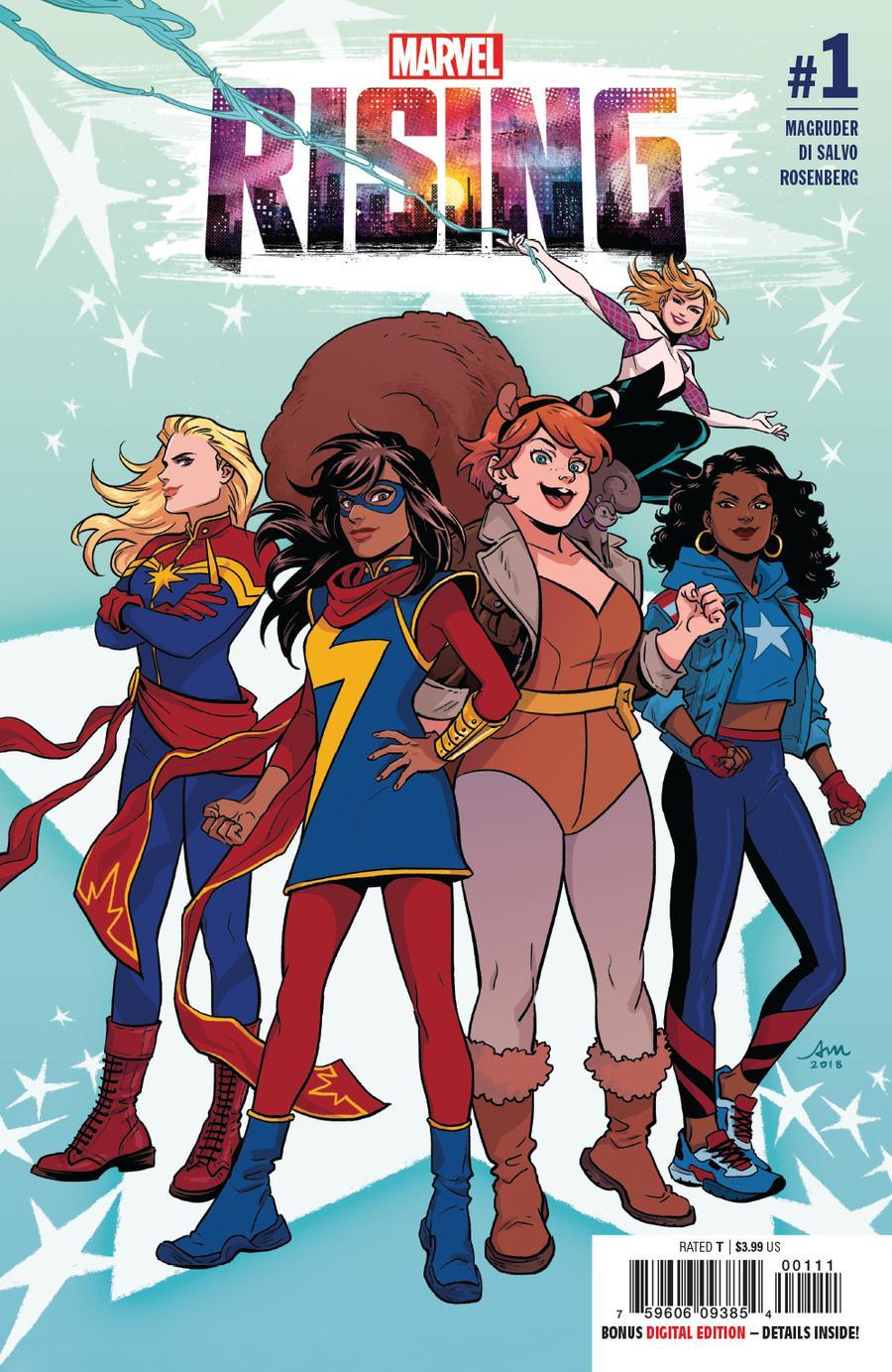 Marvel Rising #1 Cover A Regular Audrey Mok Cover
