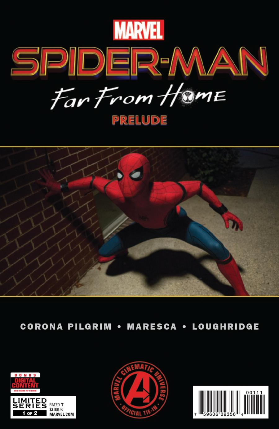Marvels Spider-Man Far From Home Prelude #1