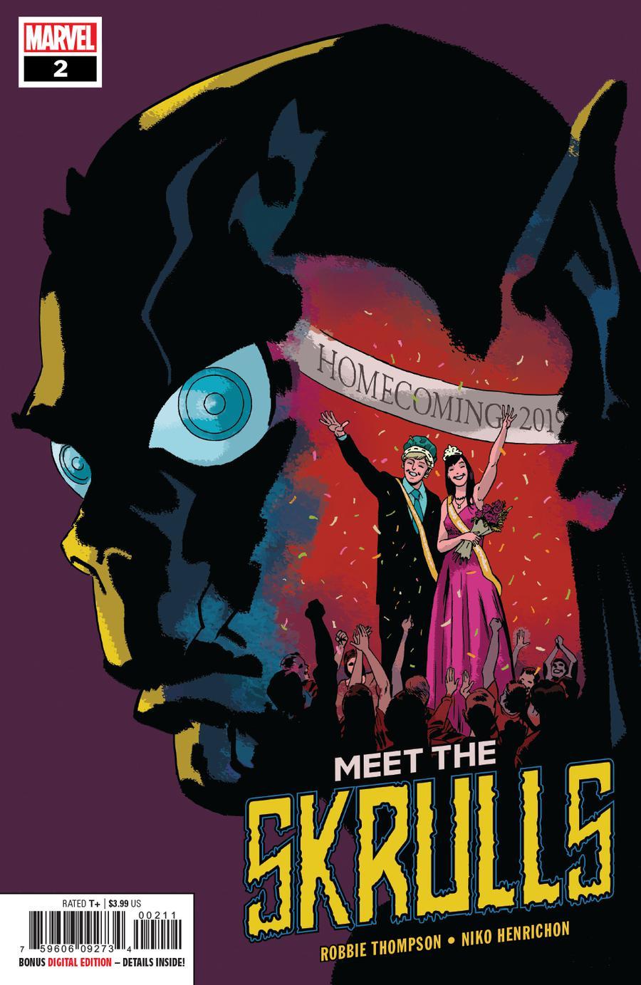 Meet The Skrulls #2 Cover A Regular Marcos Martin Cover