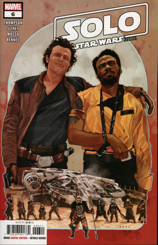 Solo A Star Wars Story Adaptation #6