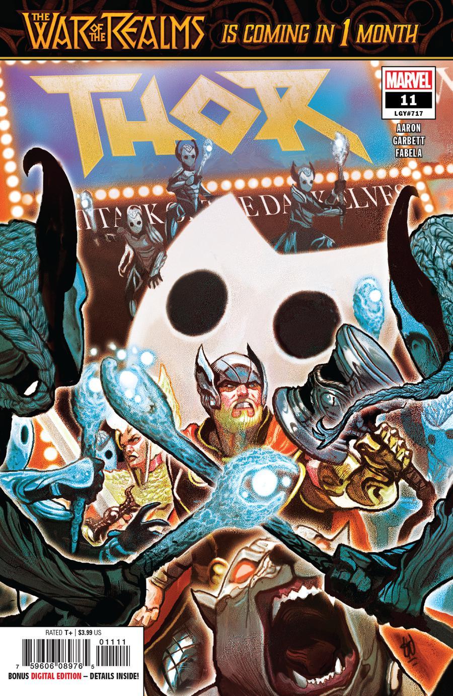 Thor Vol 5 #11 Cover A Regular Michael Del Mundo Cover (War Of The Realms Prelude)