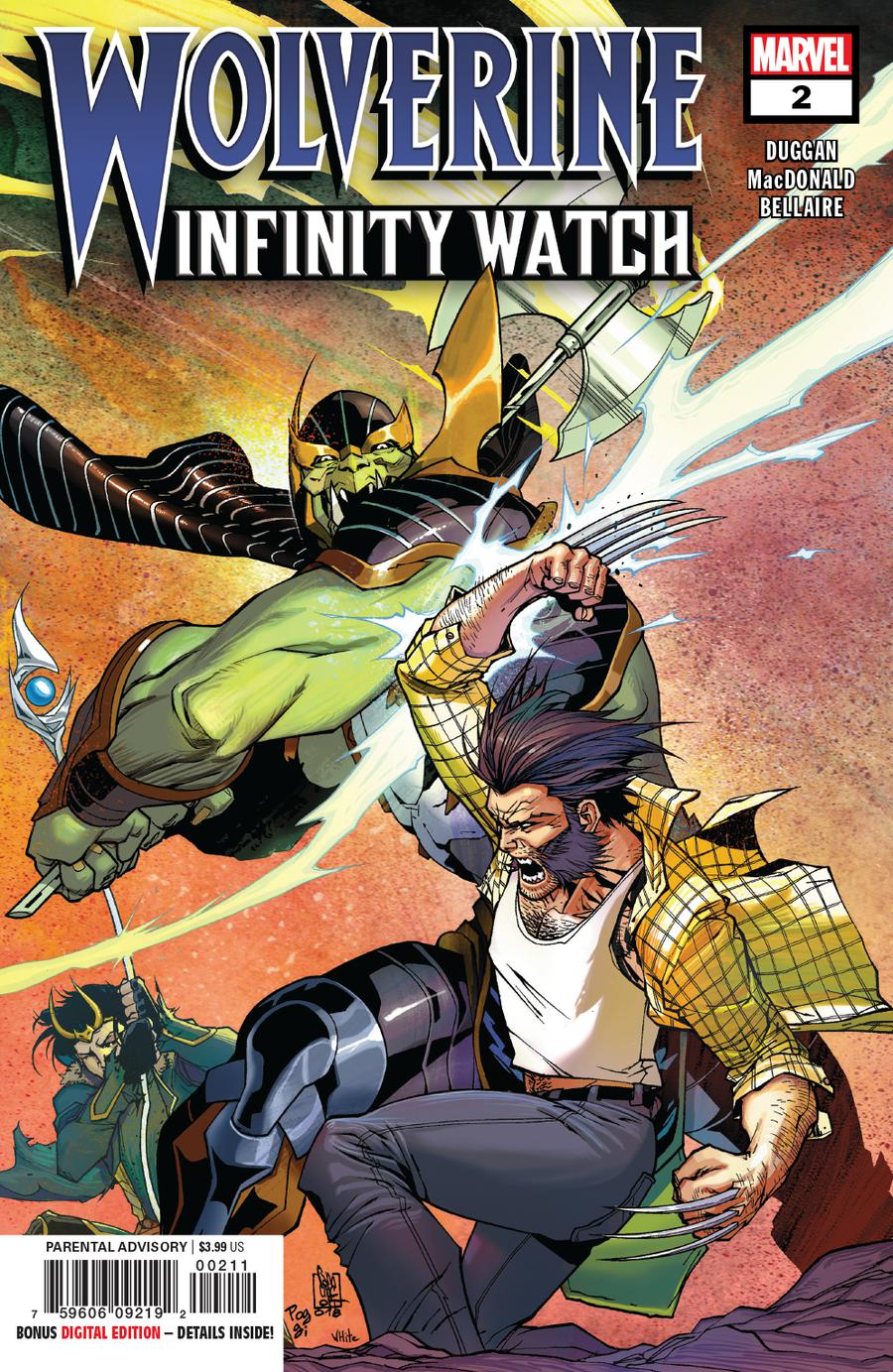 Wolverine Infinity Watch #2 Cover A Regular Giuseppe Camuncoli Cover