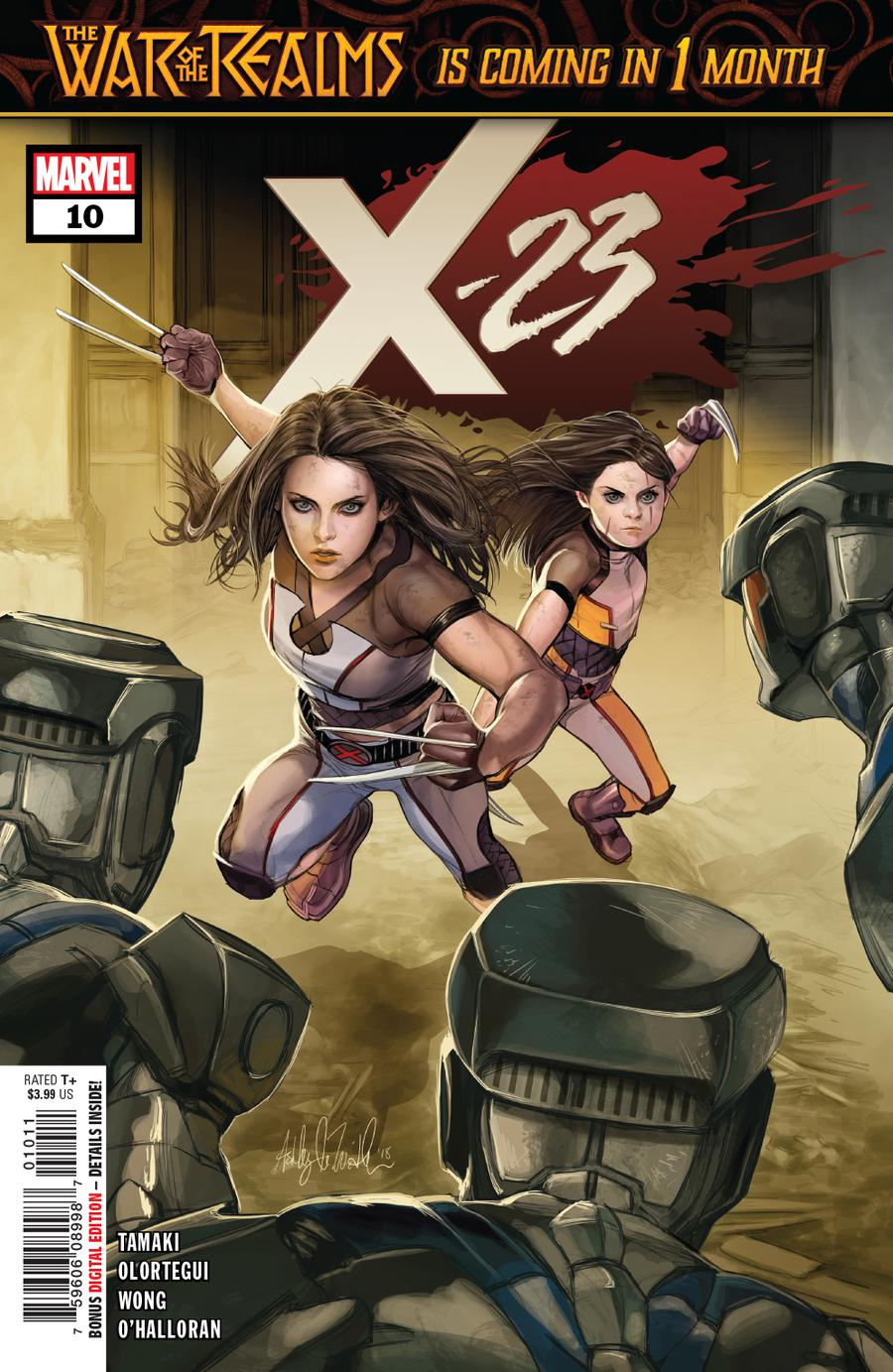 X-23 Vol 3 #10 Cover A Regular Ashley Witter Cover