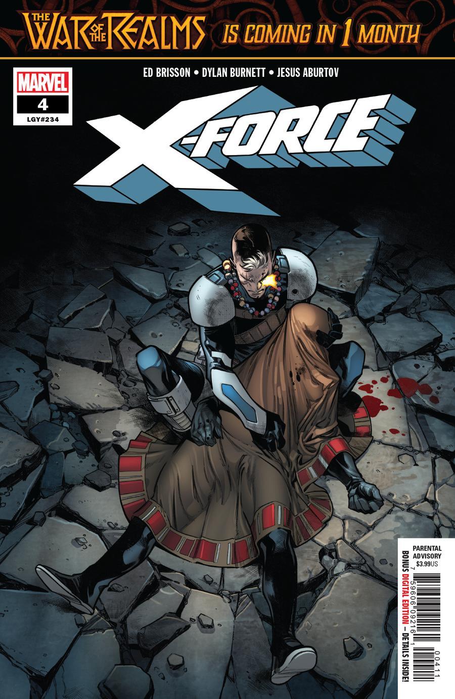 X-Force Vol 5 #4 Cover A Regular Pepe Larraz Cover