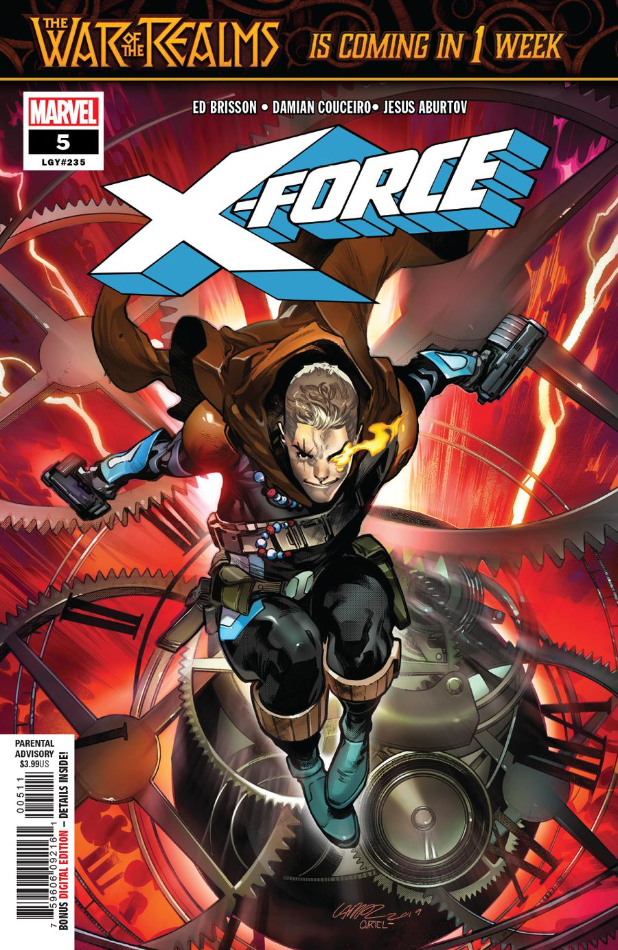 X-Force Vol 5 #5 Cover A Regular Pepe Larraz Cover