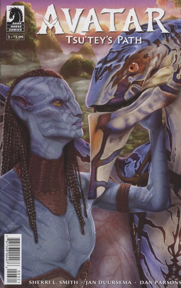 Avatar Tsuteys Path #3 Cover B Variant Shea Standefer Cover