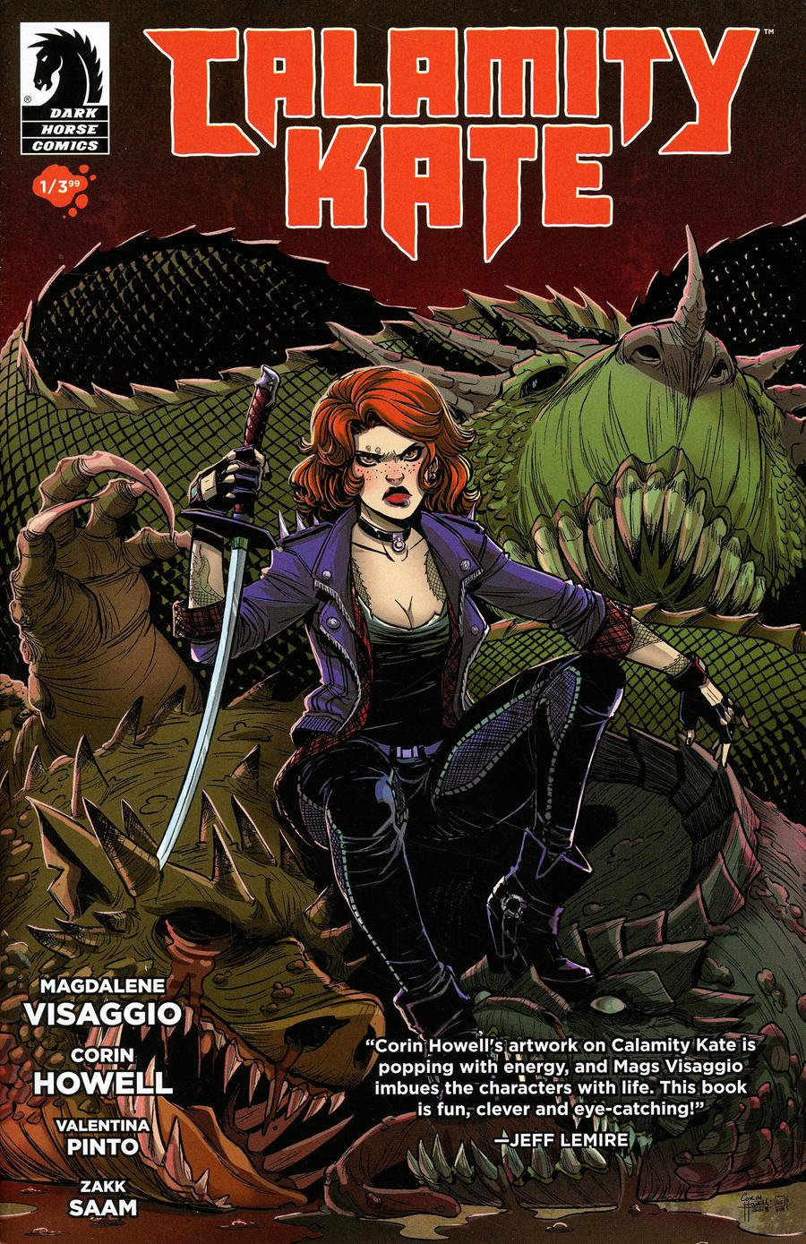 Calamity Kate #1 Cover A Regular Corin Howell & Valentina Pinto Cover