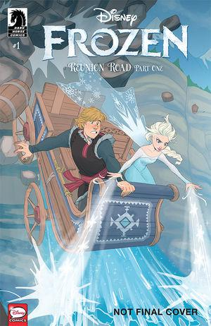 Disney Frozen Reunion Road #1 Cover B Variant Cover