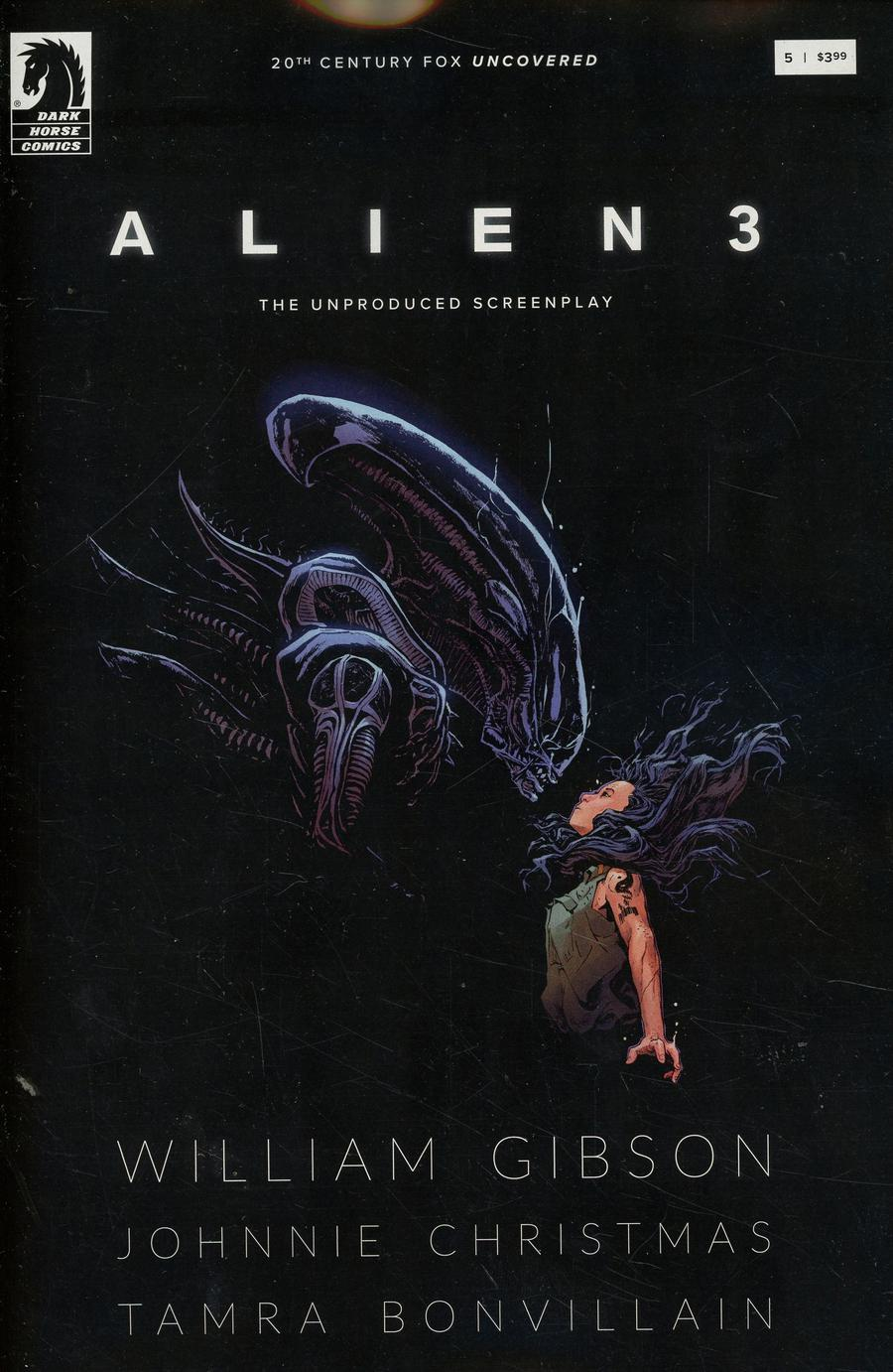 William Gibsons Alien 3 #5 Cover A Regular Johnnie Christmas Cover