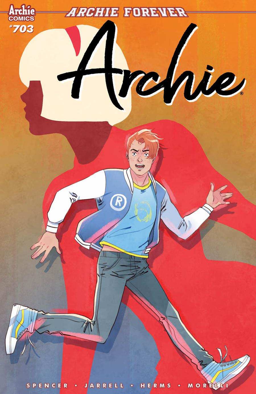 Archie Vol 2 #703 Cover A Regular Marguerite Sauvage Cover