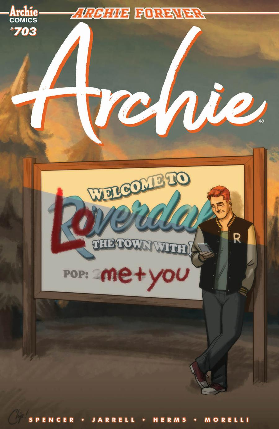 Archie Vol 2 #703 Cover C Variant Chip Zdarsky Cover
