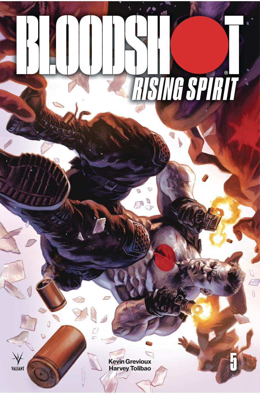 Bloodshot Rising Spirit #5 Cover A Regular Felipe Massafera Cover