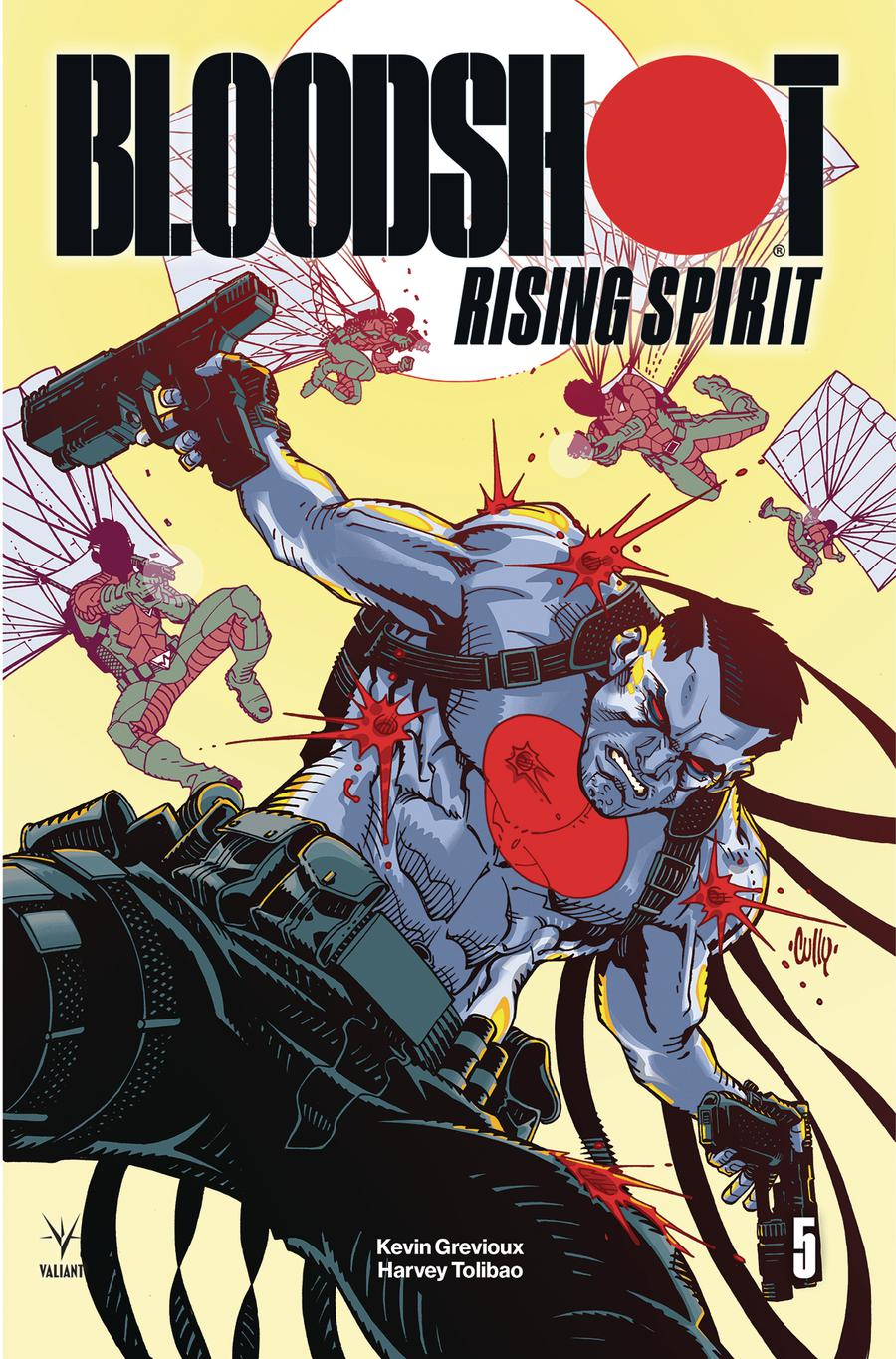 Bloodshot Rising Spirit #5 Cover B Variant Cully Hamner Cover