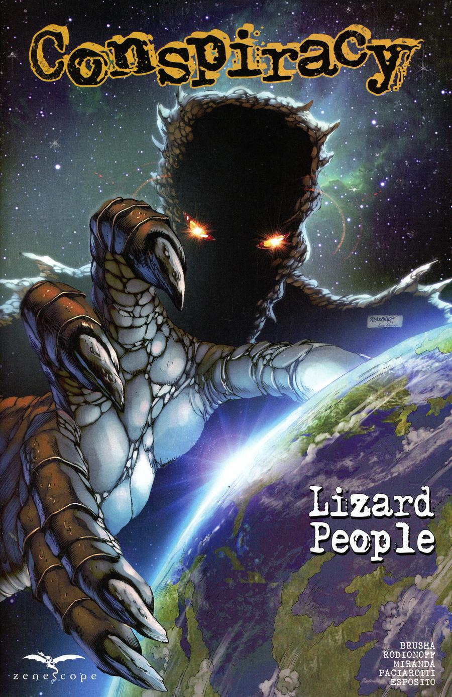 Conspiracy (Zenescope) #5 Lizard People Cover B Sheldon Goh