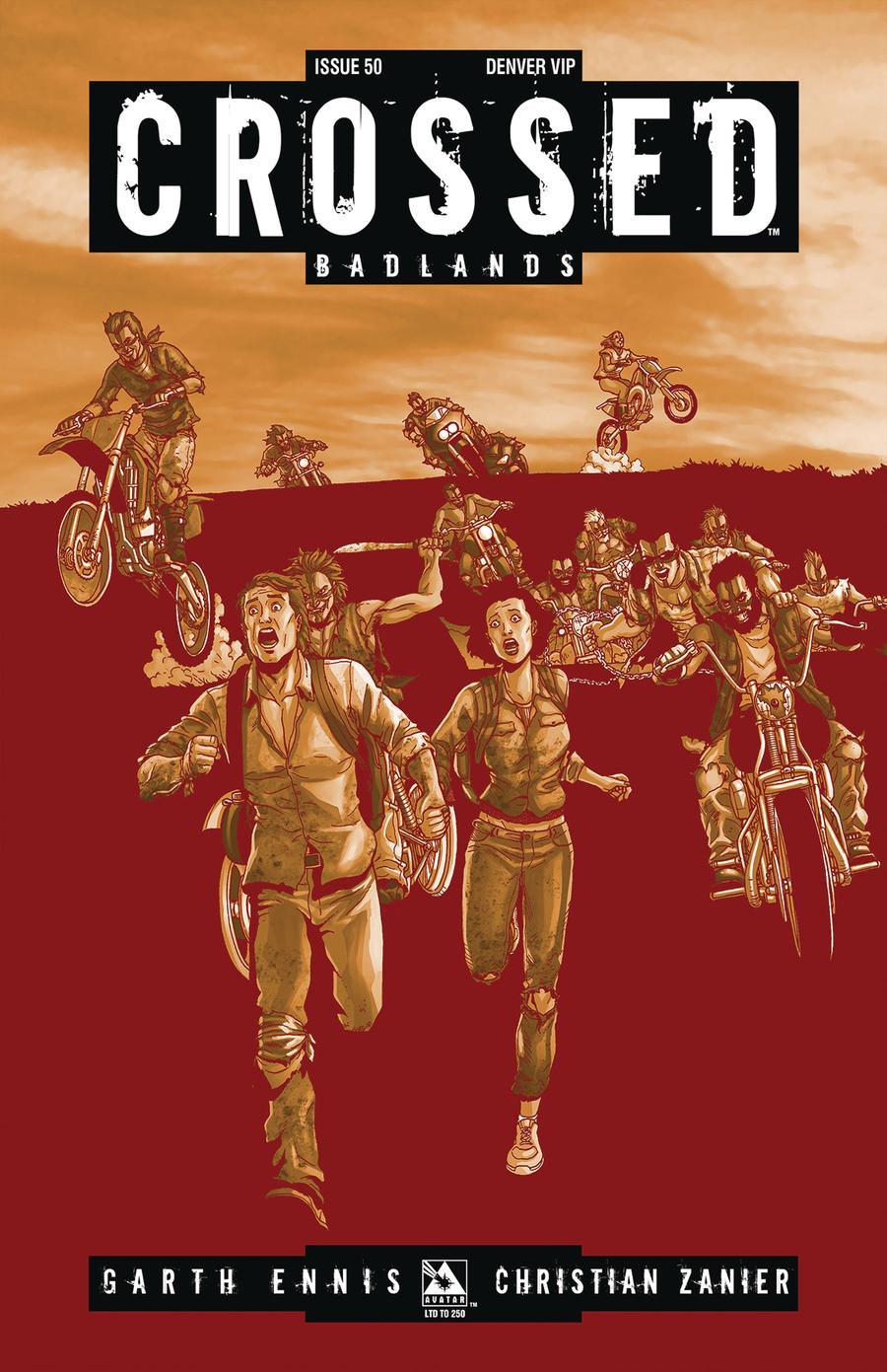 Crossed Badlands #50 Cover Q Denver VIP Cover