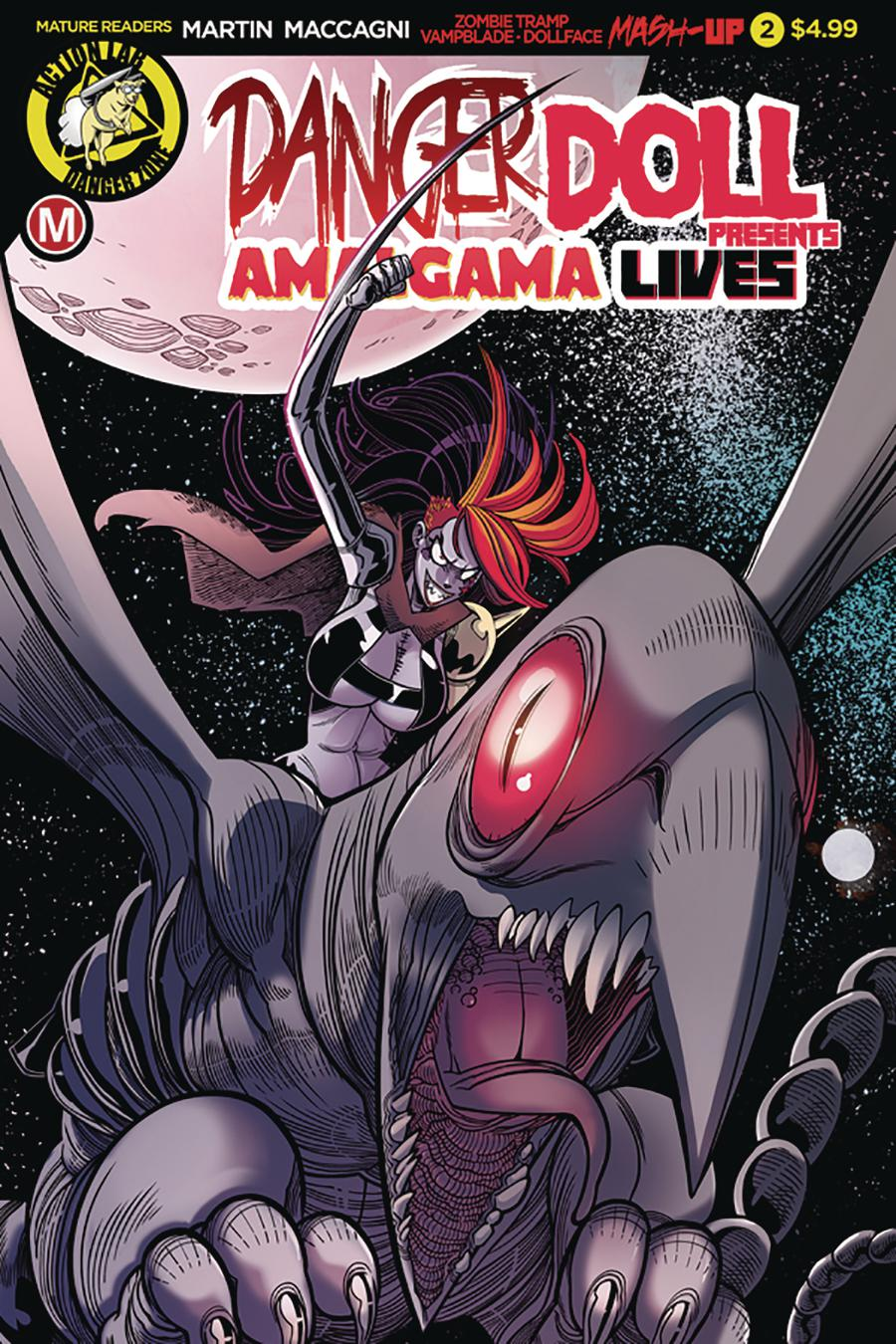 Danger Doll Squad Presents Amalgama Lives #2 Cover A Regular Marco Maccagni Cover