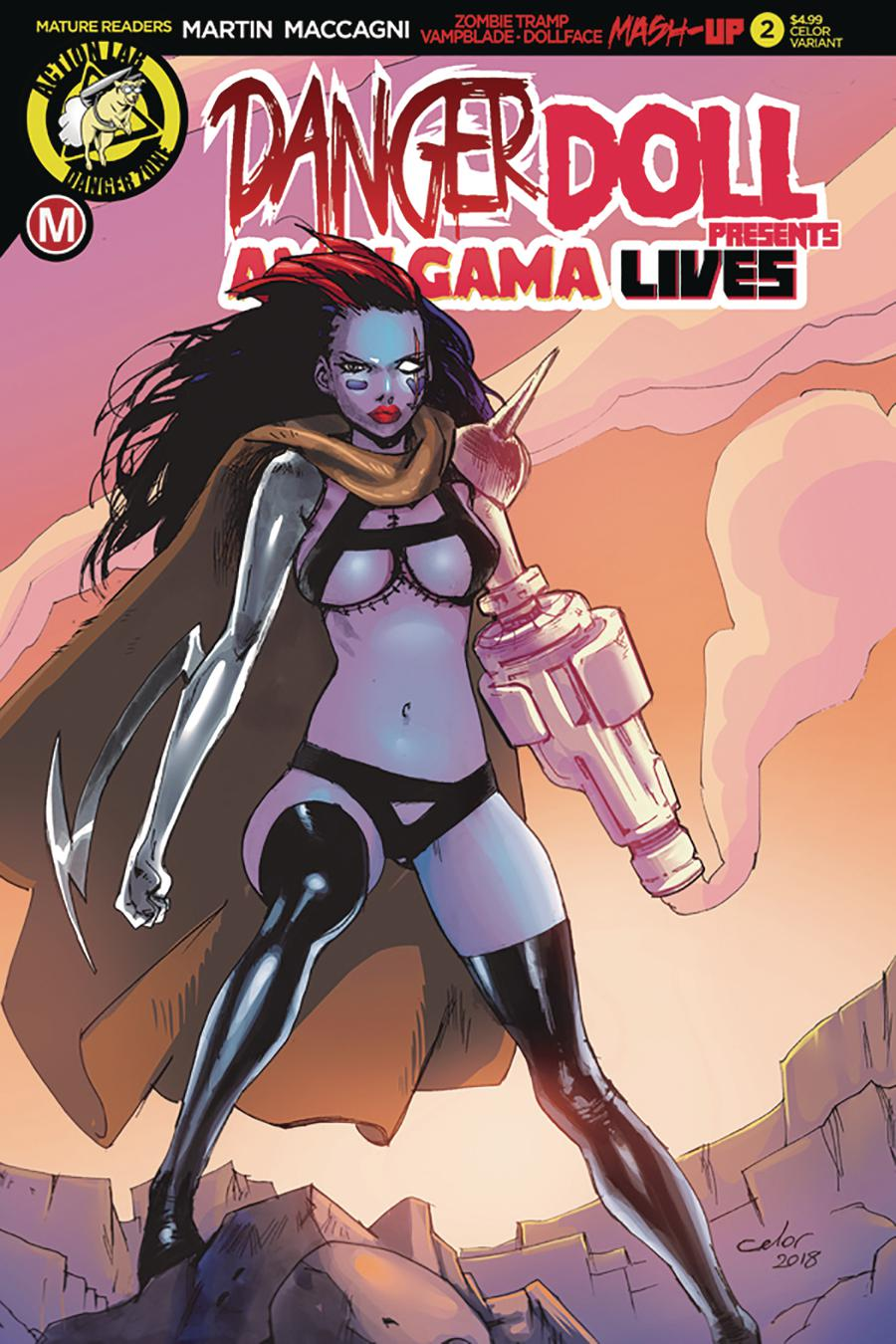 Danger Doll Squad Presents Amalgama Lives #2 Cover C Variant Celor Cover