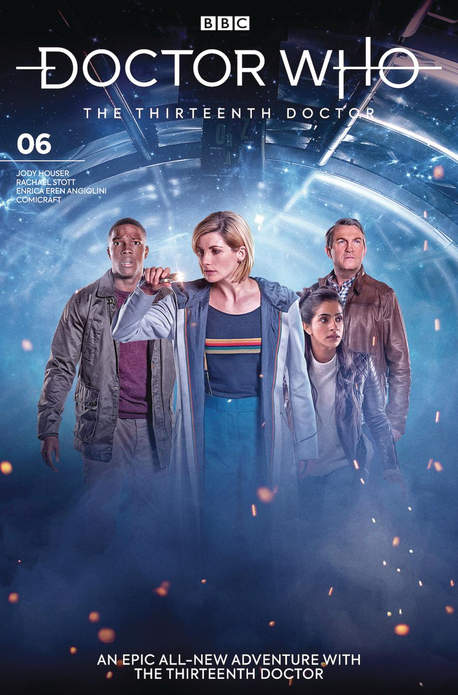 Doctor Who 13th Doctor #6 Cover B Variant Photo Cover