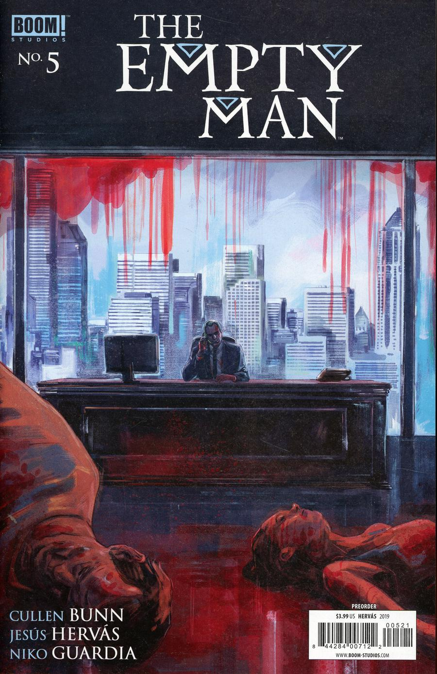 Empty Man Vol 2 #5 Cover B Variant Jesus Hervas Preorder Cover