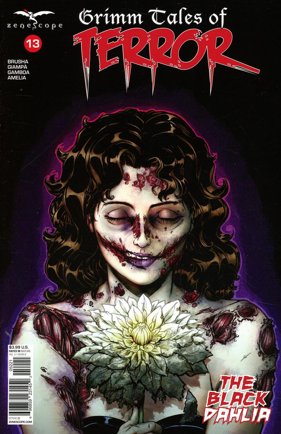 Grimm Fairy Tales Presents Grimm Tales Of Terror Vol 4 #13 Cover B Dan Leister