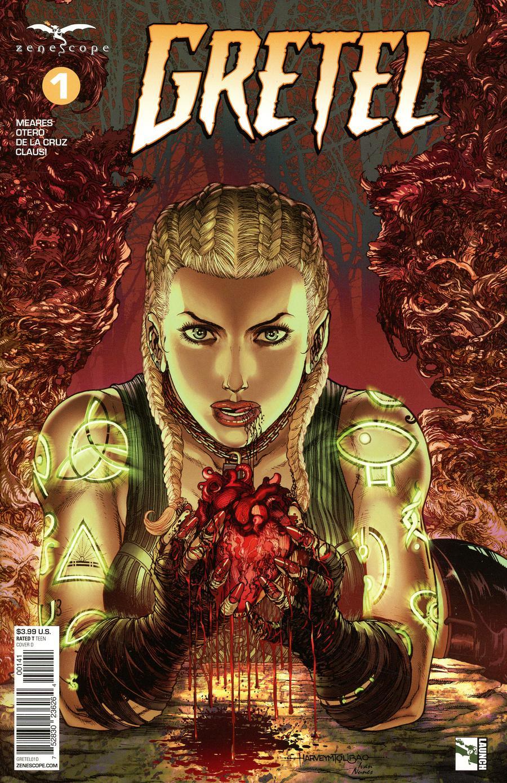 Grimm Fairy Tales Presents Gretel #1 Cover D Harvey Tolibao