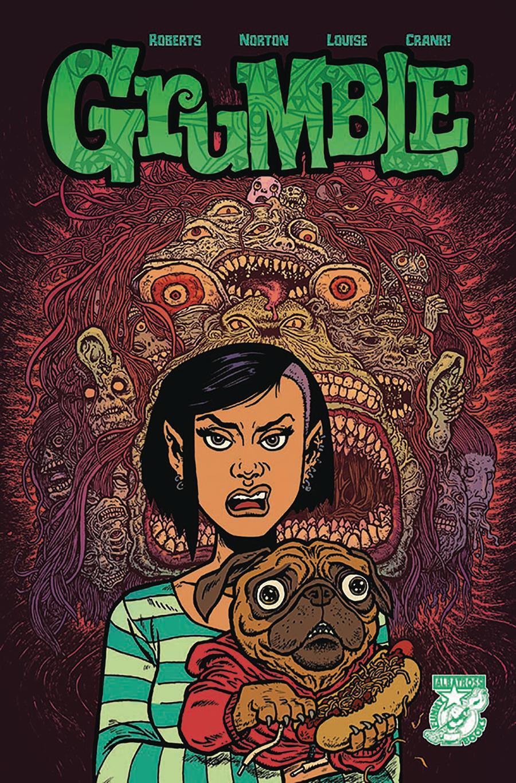 Grumble #5 Cover B Variant Evan Dorkin Cover