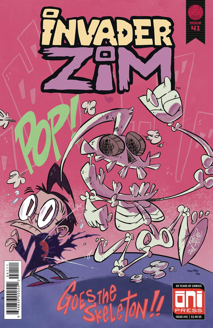 Invader Zim #41 Cover A Regular Warren Wucinich Cover