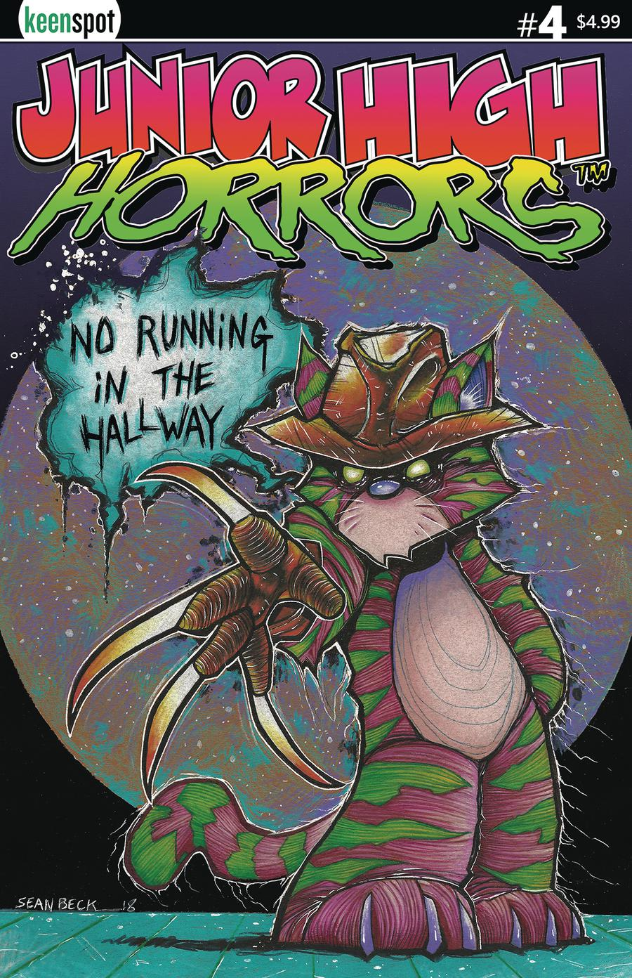 Junior High Horrors #4 Cover C Variant Frederick No Running Cover