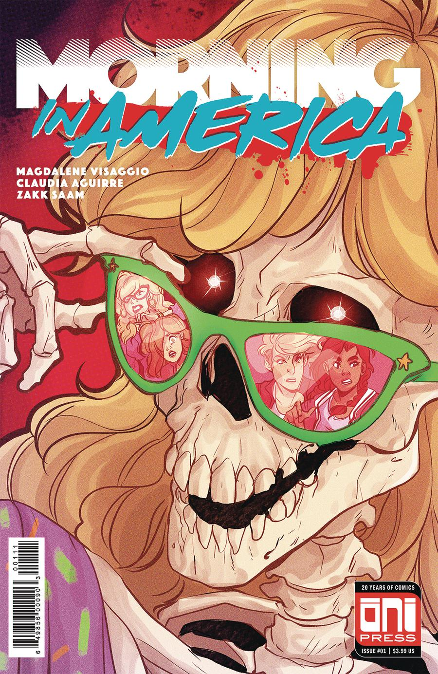 Morning In America #1 Cover A Regular Claudia Aguirre Cover