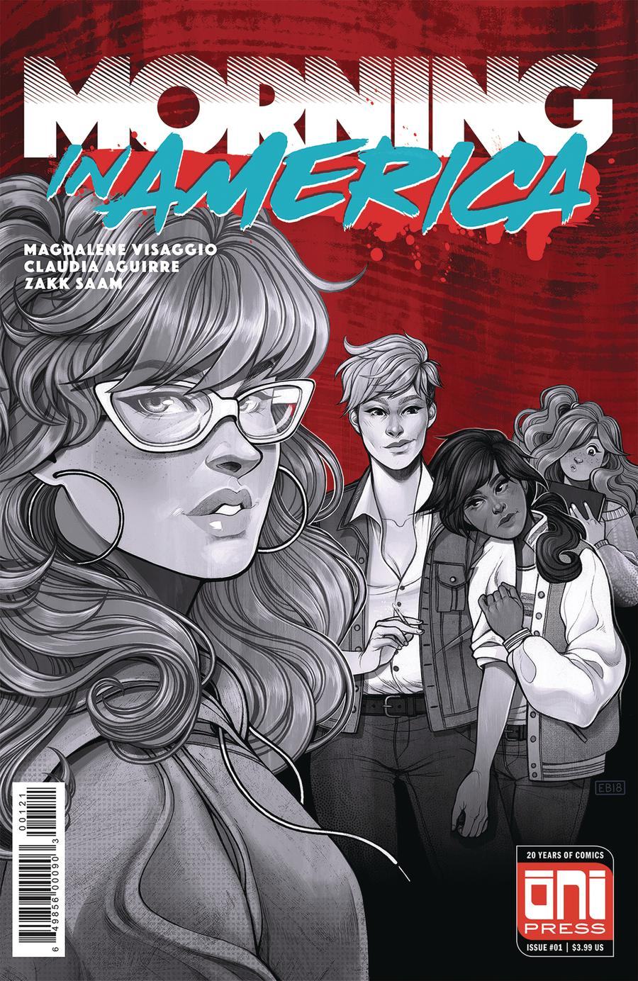 Morning In America #1 Cover B Variant Elizabeth Beals Cover