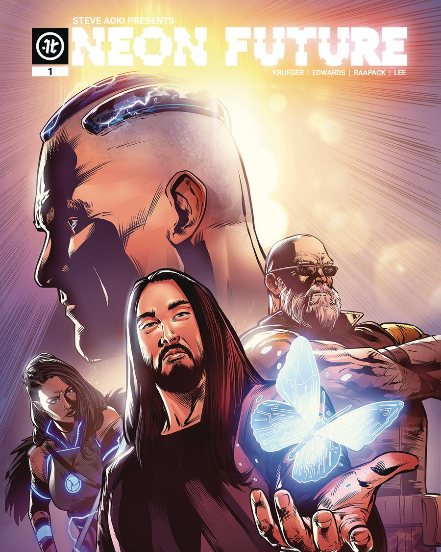Neon Future #1 Cover C Variant Jheremy Raapack Cover