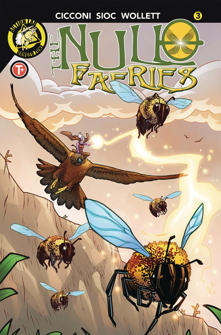 Null Faeries #3 Cover A Regular Chad Cicconi Cover