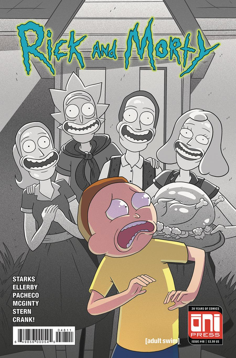 Rick And Morty #48 Cover A Regular Marc Ellerby & Sarah Stern Cover