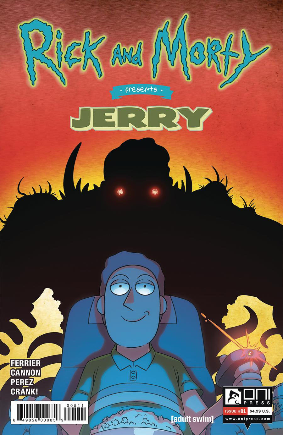 Rick And Morty Presents Jerry #1 Cover A Regular CJ Cannon & Joshua Perez Cover