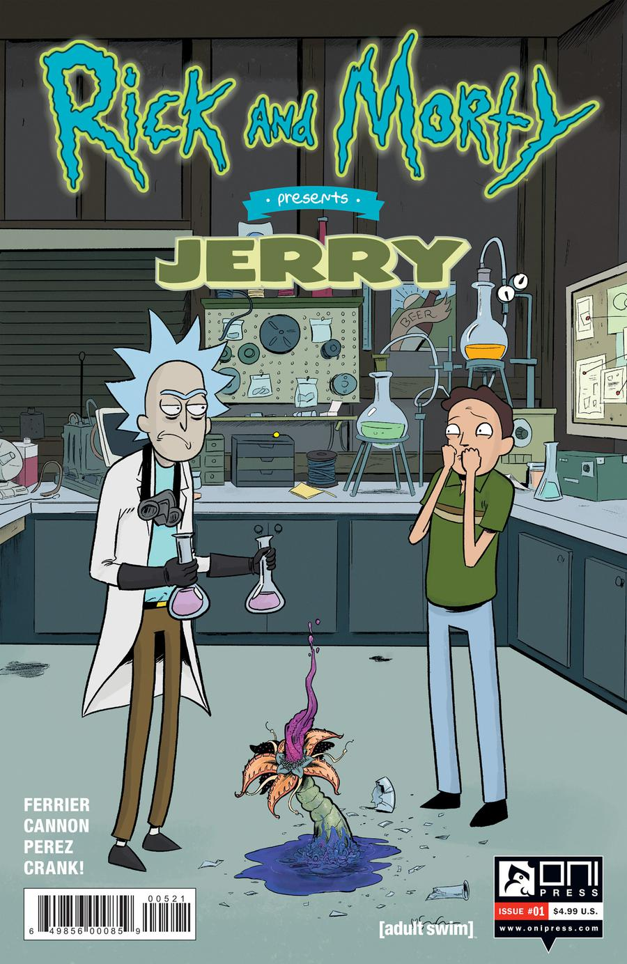 Rick And Morty Presents Jerry #1 Cover B Variant Sina Grace Cover