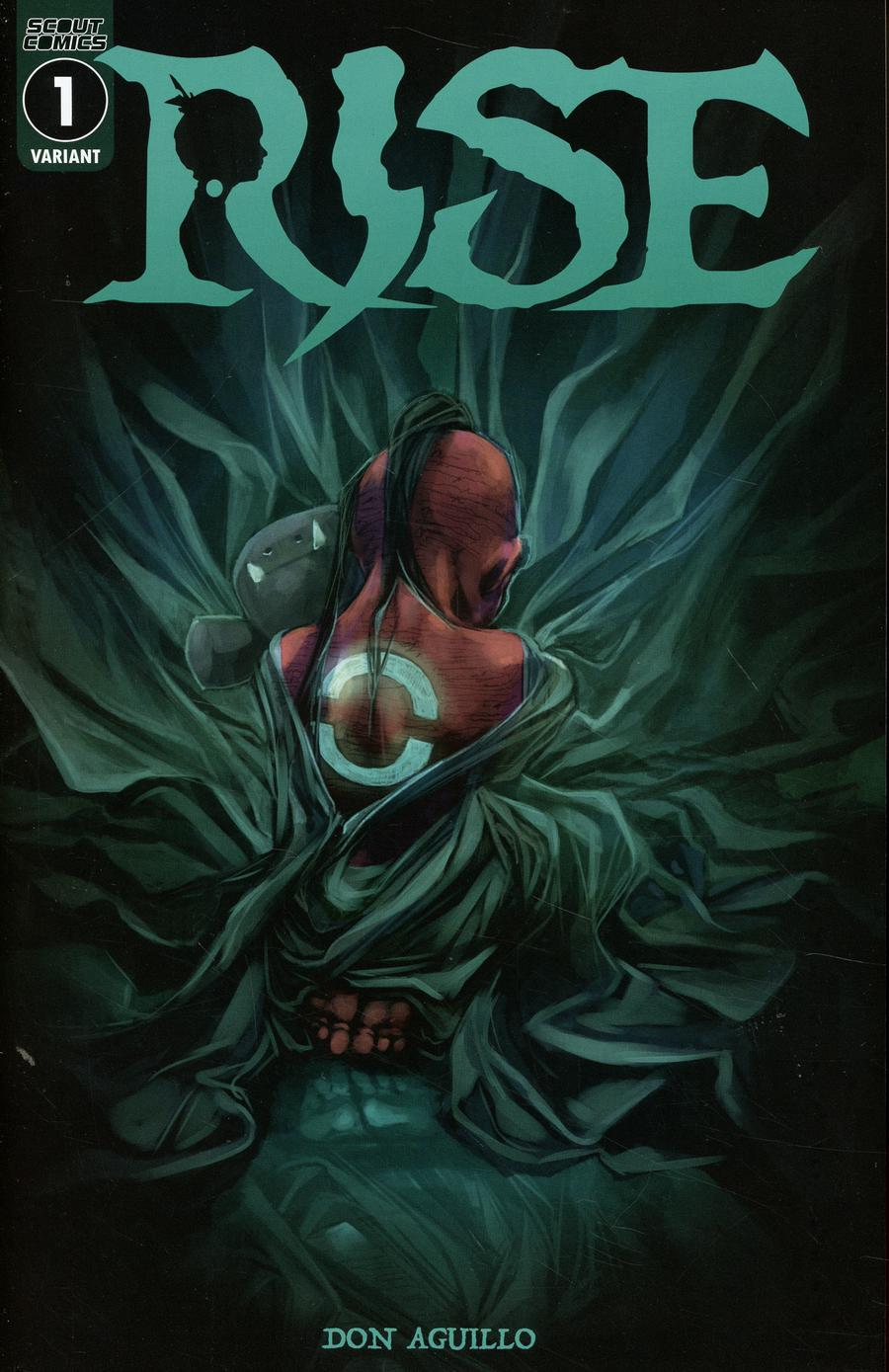 Rise (Scout Comics) #1 Cover B Variant Don Aguillo Cover