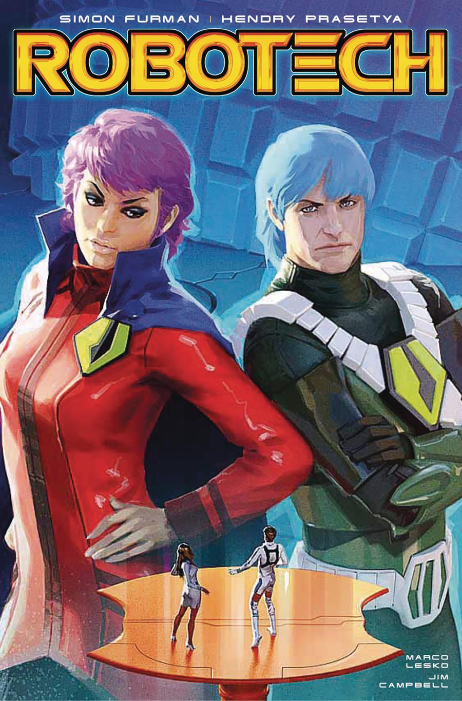 Robotech Vol 3 #18 Cover C Variant Alex Ronald Cover