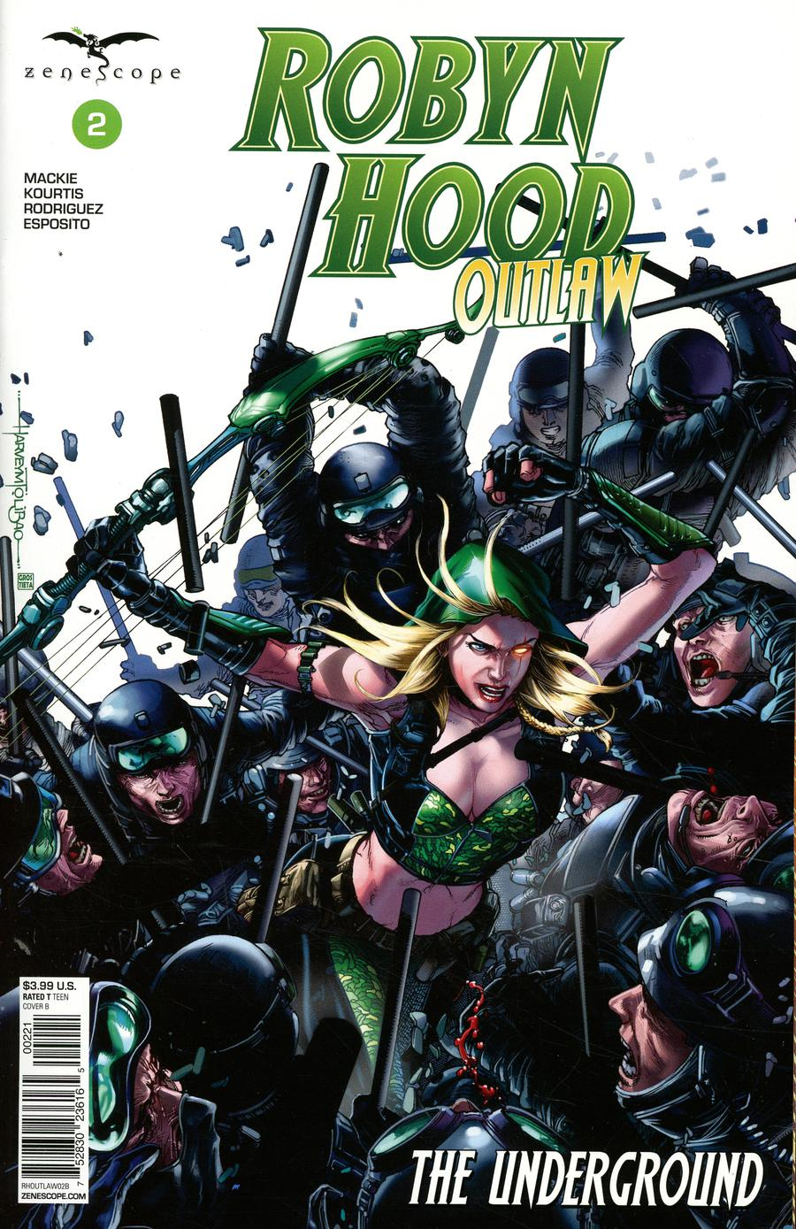 Grimm Fairy Tales Presents Robyn Hood Outlaw #2 Cover B Harvey Tolibao
